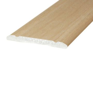 Wood Effect Aluminium Trim 30mm x 2mm A02 Self Adhesive