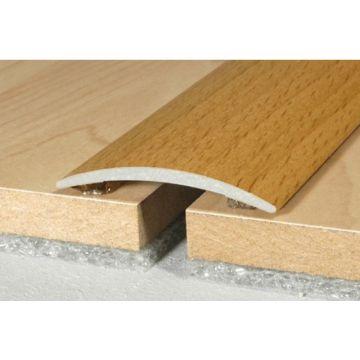Wood effect Aluminum Treshold 40mm x 5mm A13 Self Adhesive Wood effect