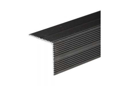 Anodised Aluminum Stair Nosing 35mm x 35mm A34 Screw