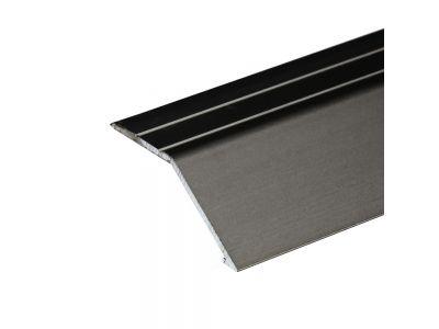 Anodised Aluminium Ramp 41mm x 16mm A47 Self Adhesive
