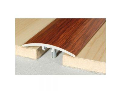Wood effect Aluminum Treshold 40mm x 5mm A64 Screw